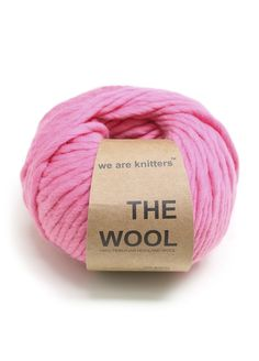 100% Peruvian Wool Bubblegum
