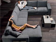 Natuzzi Sofas DOMINO, looks comfi nice shape, a bit to big, like the floor