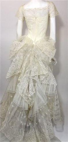 berengia: 1950's Vintage wedding dress