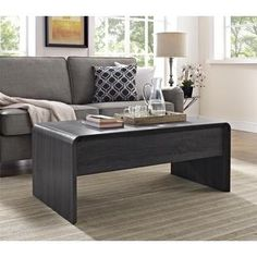 Avenue Greene Maddie Dark Grey Lift Top Coffee Table | Overstock.com Shopping - The Best Deals on Coffee, Sofa & End Tables