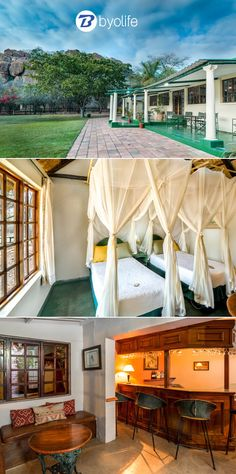 Farmhouse Lodge in Matopos provides the ideal accommodation and attractions from which visitors can discover the many natural wonders of the Matobo Hills. Victoria Falls, Zimbabwe, Natural Wonders, Campsite, Outdoor Furniture, Outdoor Decor, Bed And Breakfast, Lodges, Hotels