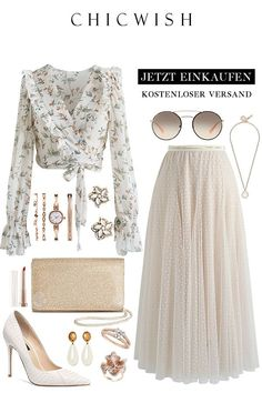 Maxirock - New Ideas Komplette Outfits, Cute Casual Outfits, Skirt Outfits, Pretty Outfits, Stylish Outfits, Muslim Fashion, Hijab Fashion, Fashion Dresses, Woman Dresses