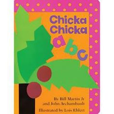 Chicka Chicka ABC Large Board Book - Cow & Lizard