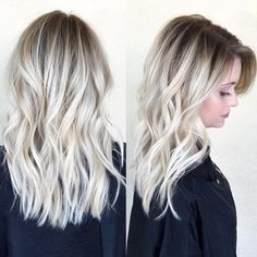 "10.7k Likes, 144 Comments - OLAPLEX (@olaplex) on Instagram: ""Hair that has it all...lived-in waves, shadow root, bright and beautiful blonde, a healthy shine.…"""