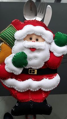 Christmas, Cutlery, Xmas Pics, Centerpieces, Felting, Hipster Stuff, Xmas, Weihnachten, Navidad