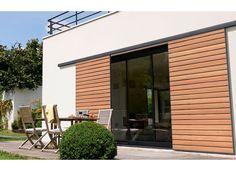 Window Shutters Exterior, Roller Shutters, Modern Windows, Round House, Patio Design, Modern House Design, Facade, Pergola, Architecture