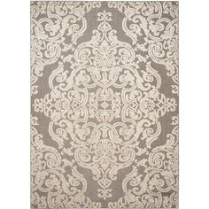 Add warmth and a timeless elegance to any room with this Safavieh Monroe taupe rug. Made of the softest polypropylene pile, this rectangle area rug is power loomed for a consistent weave and lasting durability. The beautiful geometric pattern on this taupe area rug accents any decor, whether contemporary or traditional. Safavieh Monroe Taupe Rug (8' x 11'2)