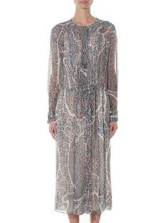 Saphir botanical paisley-print midi dress | Isabel Marant Étoile | MATCHESFASHION.COM UK