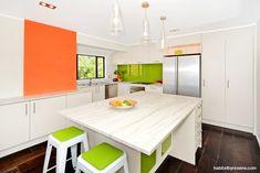 4 fab colour-shot kitchens | Habitat by Resene | 4 fab colour-shot kitchens