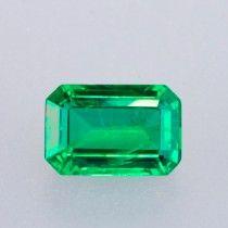 1.87ct Emerald Cut Zambian Emerald