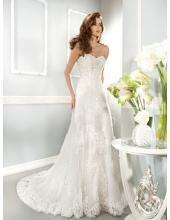 Cosmobella Preiswerte Brautkleider für Mollige - Style 7670