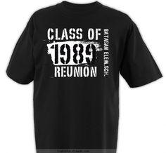custom t shirt design bes batch 1989 reunion stuffclass reunionreunion ideasdesign