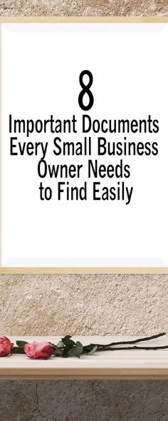 8 Important Documents Every Small Business Owner Needs to Find Easily - startup business tips Starting your own business? Visit this post about 8 documents every Small Business Owner needs to easily find those papers. Business Ideas For Women Startups, Startup Business Plan, Startup Branding, Small Business Accounting, Small Business Start Up, Starting Your Own Business, Small Business Marketing, Business Advice, Business Quotes