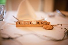 This would be SUPER cute to put on wedding party table with everyone and their label (Groom, Bride, Bridesmaids, Groomsmen, best man, maid of honor, etc etc <3)