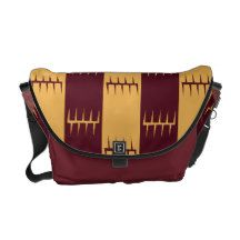 Tribal Stripes Courier Bag