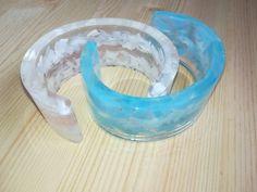Náramky ze skla a pryskyřice. #resin Resin