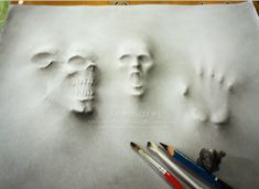 Rescue me from Demon 3D/emboss art by leemarej.deviantart.com on @deviantART