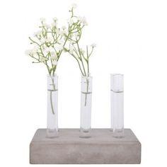 Esschert Design Plantstek Set Beton - L