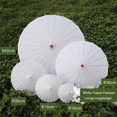 ^_^Chinese Paper Parasols Usage 1. Life: Parasol of Sunshine UV 2.Props: Movie, Singing Show, Fashion Show, 3.Stage Property: Drama,Solo Concert,Concert Live, 4.Event: Victorian Event, 5.Party: Beach party,Themed Party 6.WEDDING: Beach Wedding,Chinese style Wedding, 7.Photography: Vintage style 8.Decoration: Window display, interior decoration,Craft supplies, 9.Drawing:Craft, Draw something on the parasol,illustrate,  Handle Materials : Wood,Bamboo Canopy Materials: Chinese art paper,Silk…