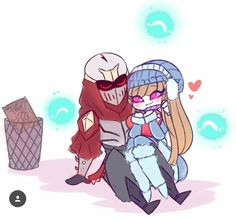 Zed and Syndra Leona League Of Legends, Liga Legend, Xayah And Rakan, Online Battle, Masked Man, Champions, Dark Souls, Manga Girl, Anime Couples