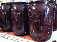 Canning Homemade!: Blueberry Pie Filling  1 quart and 7 quart recipe