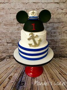 Mickey Sailor Cake
