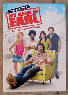 MY NAME IS EARL Complete SECOND Season 2nd 2 TWO 2  TV COMEDY SHOW