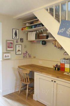 16 formidables idées pour aménager l'espace sous l'escalier