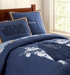 Hmmmm.  Maybe my MIL could make a star wars quilt.