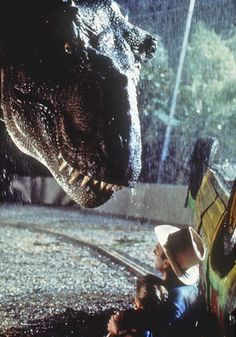 Jurassic Park (1993). One of my favorite movies- a classic! I've seen it 100 times at least, haha!