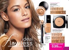 Get that flawless face look!  All dependable AVON products starting at $ 5.99!  Shop now @ GetMyAvon.net