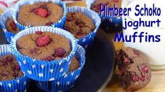 Himbeer-Joghurt Muffins - Rezept von Lila Kuchen Muffins, Desserts, Breakfast, Food, Muffin Recipes, Purple Cakes, Raspberries, Dessert Ideas, Food Food
