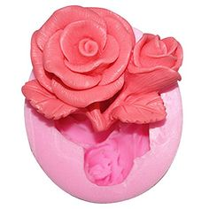 Lingmoldshop Rose C287 Craft Art Silicone Soap mold DIY Candy mould Craft Molds Handmade Candle molds ** Want additional info? Click on the image.