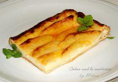 Cuina amb la mestressa: Tarta de hojaldre y manzana