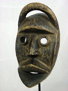 African Dan Kran mask