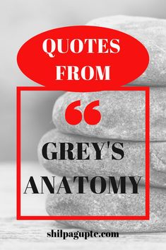 10 quotes from Grey's Anatomy.