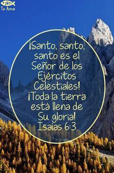 Isaías 6:3 facebook.com/jesusteamamgaministries