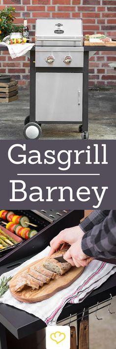 Bei deinem nächsten BBQ darf dieser Ehrengast nicht fehlen: Der Gasgrill Barney aus der Springlane Selection versorgt Grillfreunde den ganzen Abend mit saftigen Steaks, krossen Bratwürstchen und leckerem Grillgemüse.