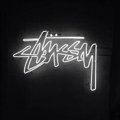 Stussy Logo Neon Lights