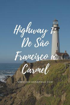 Nesse post percorremos o primeiro trecho dessa estrada, fazendo o caminho entre São Francisco e Carmel parando nas principais praias e mirantes do caminho. Um percurso de 197 quilômetros com direito a muitas paradas.