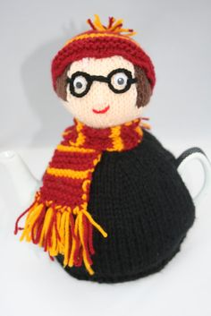 Harry Potter style Tea pot cosy Novelty teapot by sweetygreetings, £8.50
