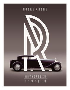 Metropolis 1920 by Josip Kelava, via Behance