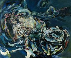 uromancy:  Oskar Kokoschka - Bride of the Wind
