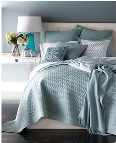 """""""Bradley"""" Bed Linens horchow .... love the colors in this room"""