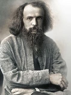 Scientists, Famous Scientists, Great Scientists Information, Biography, Photo, Name, History.: Dmitri Mendeleev (1834-1907). Gave us the Periodic table of elements.What a super geeky looking guy, huh?