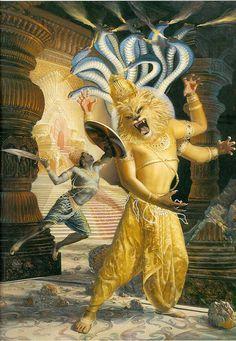 Narasimha, an avatar of Vishnu