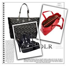 """DLRBOUTIQUE.COM"" by edina-milic ❤ liked on Polyvore featuring Karl Lagerfeld, Borbonese, Yves Saint Laurent and Whiteley"