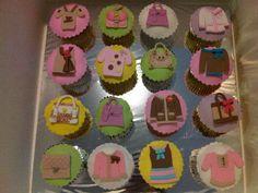Fashion Theme Cupcakes