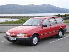 Ford sierra estate 1991 Bought one of these old sheds when post to Germany! 1990s Cars, Ford Sierra, American Motors, Henry Ford, First Car, Car Ford, Ford Motor Company, Station Wagon, Car Parts