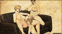 Mature Lesbian Art Pics 86